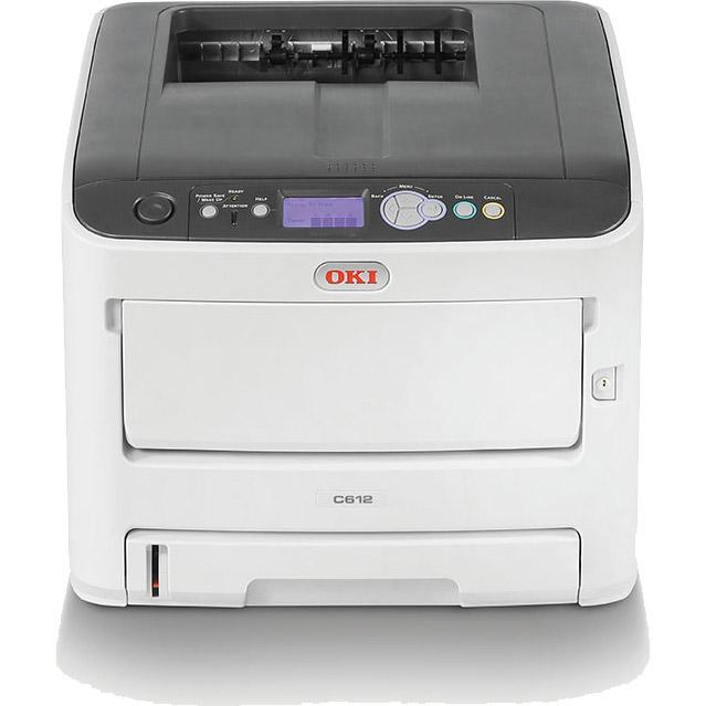 OKI DIN A4 Farblaserdrucker C612dn