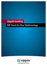 SIPGATE Trunk Informationen